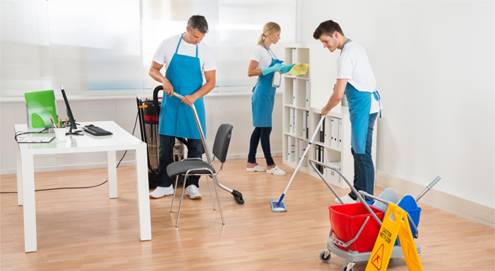 hire cleaning services