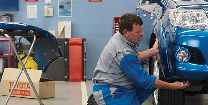 Steps to take to have your car repaired