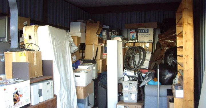 How to clean a storage unit